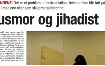 Kronikk: «Husmor og jihadist», Dagsavisen 7. juni 2018