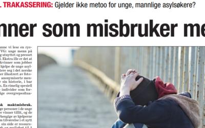 Kronikk: «Kvinner som misbruker menn», Dagsavisen 11. oktober 2018