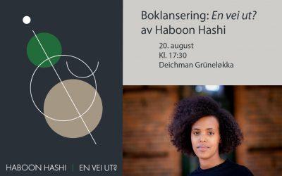 """Bok: """"En vei ut?"""" av Haboon Hashi"""