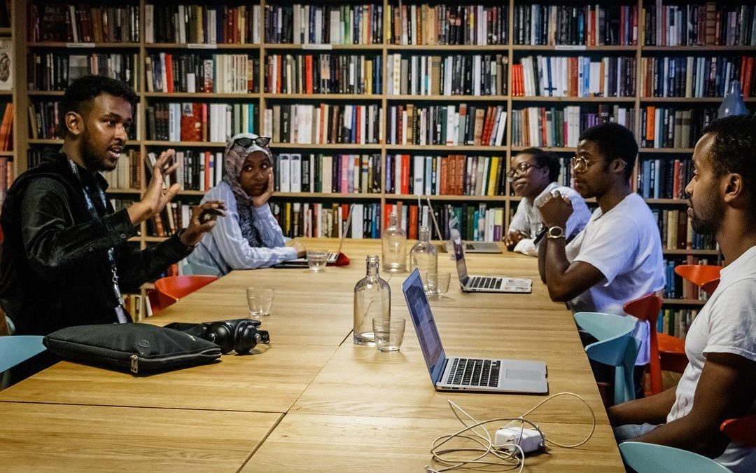 Samarbeid om skriveworkshop i Bergen