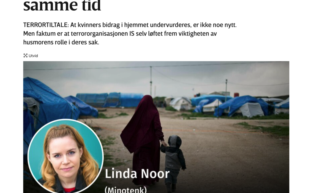 Kvinner i IS – aktør og offer på samme tid