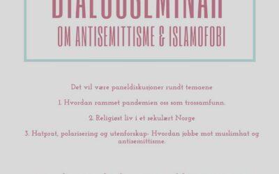 Velkommen til dialog om antisemittisme og islamofobi